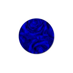 Gorgeous Roses,deep Blue Golf Ball Marker (10 Pack)