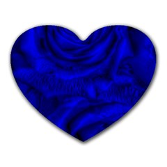 Gorgeous Roses,deep Blue Heart Mousepads