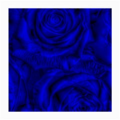 Gorgeous Roses,deep Blue Medium Glasses Cloth