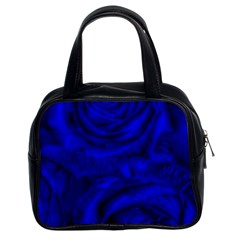 Gorgeous Roses,deep Blue Classic Handbags (2 Sides)