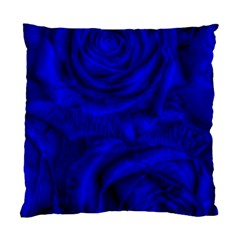 Gorgeous Roses,deep Blue Standard Cushion Case (one Side)