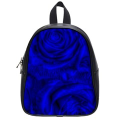 Gorgeous Roses,deep Blue School Bags (small)  by MoreColorsinLife