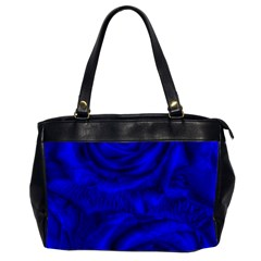 Gorgeous Roses,deep Blue Office Handbags (2 Sides)