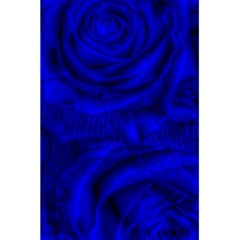 Gorgeous Roses,deep Blue 5 5  X 8 5  Notebooks
