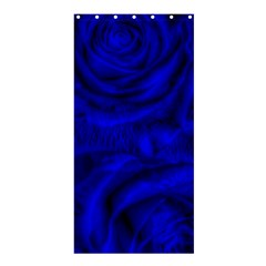 Gorgeous Roses,deep Blue Shower Curtain 36  X 72  (stall)  by MoreColorsinLife