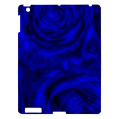 Gorgeous Roses,deep Blue Apple Ipad 3/4 Hardshell Case