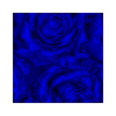 Gorgeous Roses,deep Blue Acrylic Tangram Puzzle (6  X 6 )