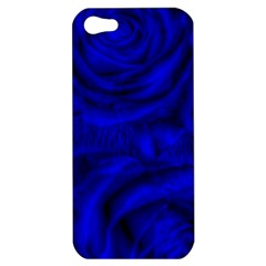 Gorgeous Roses,deep Blue Apple Iphone 5 Hardshell Case