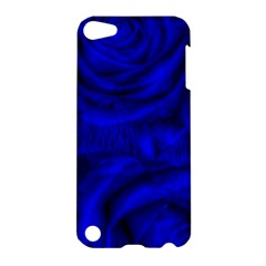 Gorgeous Roses,deep Blue Apple Ipod Touch 5 Hardshell Case