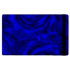 Gorgeous Roses,deep Blue Apple Ipad 3/4 Flip Case