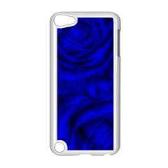 Gorgeous Roses,deep Blue Apple Ipod Touch 5 Case (white)