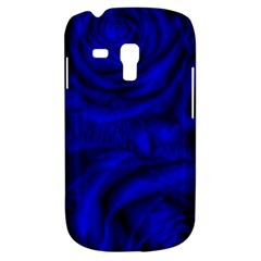 Gorgeous Roses,deep Blue Samsung Galaxy S3 Mini I8190 Hardshell Case