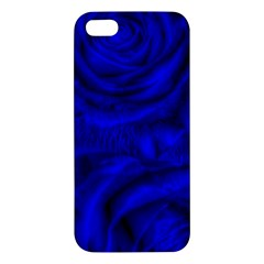 Gorgeous Roses,deep Blue Apple Iphone 5 Premium Hardshell Case