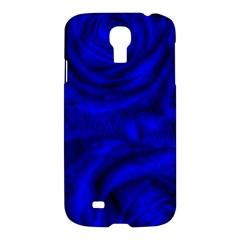 Gorgeous Roses,deep Blue Samsung Galaxy S4 I9500/i9505 Hardshell Case