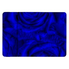 Gorgeous Roses,deep Blue Samsung Galaxy Tab 8 9  P7300 Flip Case