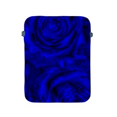 Gorgeous Roses,deep Blue Apple Ipad 2/3/4 Protective Soft Cases