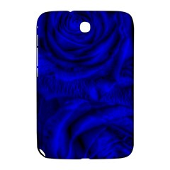Gorgeous Roses,deep Blue Samsung Galaxy Note 8 0 N5100 Hardshell Case