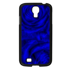 Gorgeous Roses,deep Blue Samsung Galaxy S4 I9500/ I9505 Case (black)
