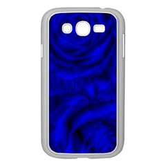 Gorgeous Roses,deep Blue Samsung Galaxy Grand Duos I9082 Case (white)