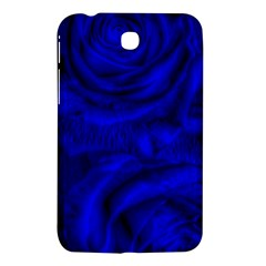 Gorgeous Roses,deep Blue Samsung Galaxy Tab 3 (7 ) P3200 Hardshell Case  by MoreColorsinLife