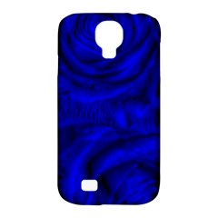 Gorgeous Roses,deep Blue Samsung Galaxy S4 Classic Hardshell Case (pc+silicone)