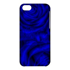 Gorgeous Roses,deep Blue Apple Iphone 5c Hardshell Case