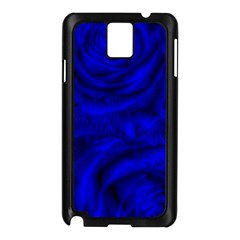 Gorgeous Roses,deep Blue Samsung Galaxy Note 3 N9005 Case (black)