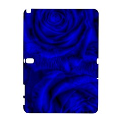 Gorgeous Roses,deep Blue Samsung Galaxy Note 10 1 (p600) Hardshell Case