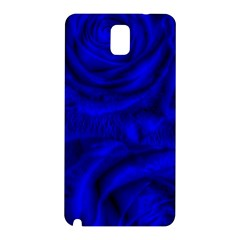 Gorgeous Roses,deep Blue Samsung Galaxy Note 3 N9005 Hardshell Back Case