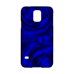 Gorgeous Roses,deep Blue Samsung Galaxy S5 Hardshell Case