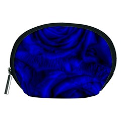 Gorgeous Roses,deep Blue Accessory Pouches (medium)