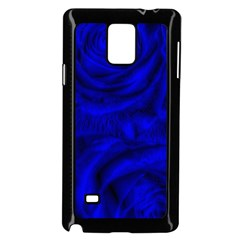Gorgeous Roses,deep Blue Samsung Galaxy Note 4 Case (black)