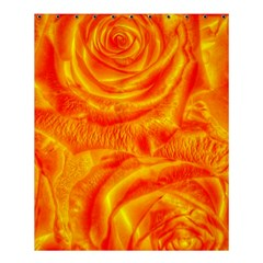 Gorgeous Roses, Orange Shower Curtain 60  X 72  (medium)