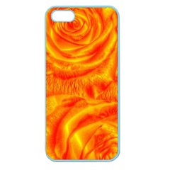 Gorgeous Roses, Orange Apple Seamless Iphone 5 Case (color)