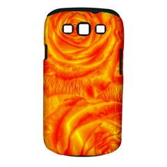 Gorgeous Roses, Orange Samsung Galaxy S Iii Classic Hardshell Case (pc+silicone)