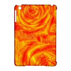 Gorgeous Roses, Orange Apple Ipad Mini Hardshell Case (compatible With Smart Cover)