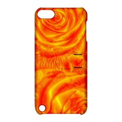 Gorgeous Roses, Orange Apple Ipod Touch 5 Hardshell Case With Stand