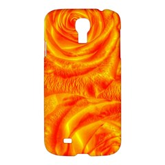 Gorgeous Roses, Orange Samsung Galaxy S4 I9500/i9505 Hardshell Case
