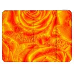 Gorgeous Roses, Orange Samsung Galaxy Tab 7  P1000 Flip Case