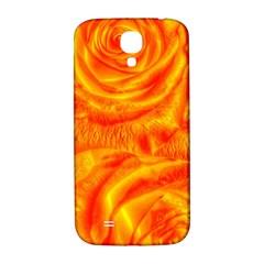 Gorgeous Roses, Orange Samsung Galaxy S4 I9500/i9505  Hardshell Back Case