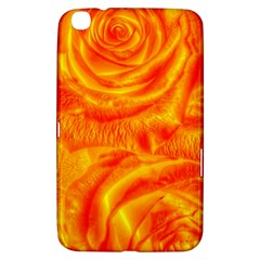 Gorgeous Roses, Orange Samsung Galaxy Tab 3 (8 ) T3100 Hardshell Case