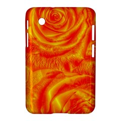 Gorgeous Roses, Orange Samsung Galaxy Tab 2 (7 ) P3100 Hardshell Case