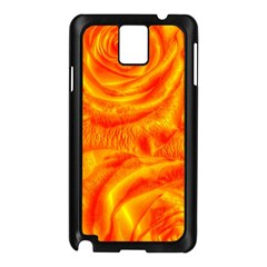 Gorgeous Roses, Orange Samsung Galaxy Note 3 N9005 Case (black)