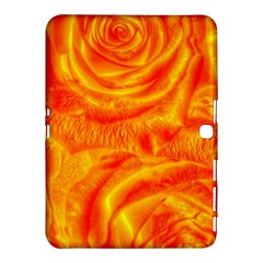 Gorgeous Roses, Orange Samsung Galaxy Tab 4 (10 1 ) Hardshell Case