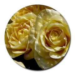 Yellow Roses Round Mousepads