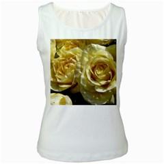 Yellow Roses Women s Tank Tops