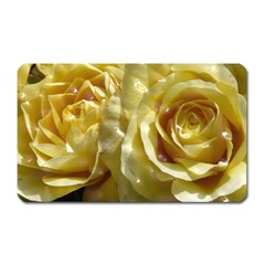 Yellow Roses Magnet (rectangular)