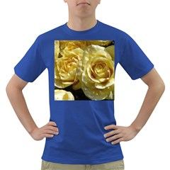 Yellow Roses Dark T Shirt
