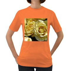 Yellow Roses Women s Dark T Shirt