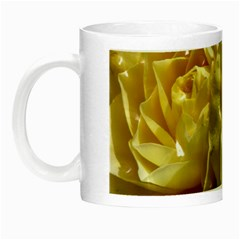 Yellow Roses Night Luminous Mugs